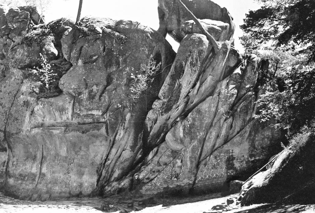 Довбуша скелі