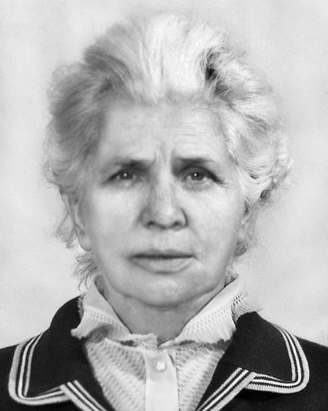 Морозова Ганна Никифорівна
