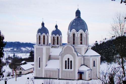 Церква у с. Ценів Козівського р-ну